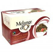 Melange d'Or Groene thee & Cranberry Fairtrade