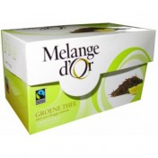 Melange d'Or Groene thee & Citroen Fairtrade