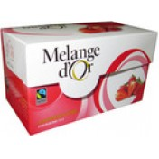 Melange d'Or Aardbei thee Fairtrade