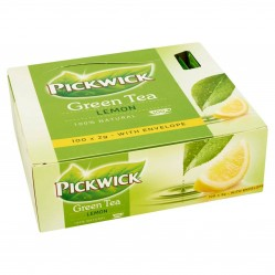 Pickwick Green Tea Original Lemon