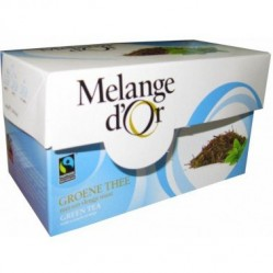 Melange d'Or Groene thee & Munt Fairtrade